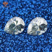 Pear diamond cut 2mm 3mm white melee moissanite loose stone for jewelry