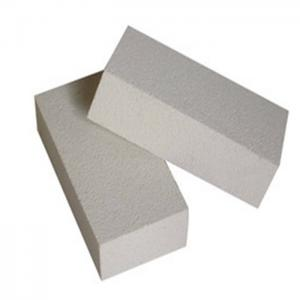 China Light Weight Insulation Mllite JM2800 Brick for  Industrial Furnace White Color on sale