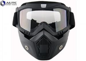 China Full Face Tactical Military Goggles TPU Windproof Reticular Construction Breathable on sale