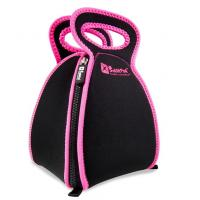 neoprene picnic bag with 4 zipper, open completely, it likes a table cloth to take food