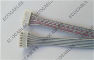 China UL2468 Red And White Flat Ribbon Wire Harness For Green Energy Power Products on sale