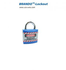 China Master Key BO-J01 Safety Jacket Padlocks Lockout With Custom Tagout , Safety Lockout on sale