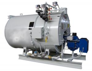 China Industrial 5 Ton Gas Fired Steam Boiler Efficiency , Thermal Oil Heating Boiler on sale
