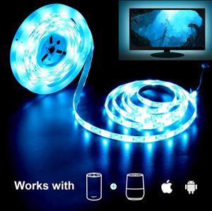 China RGB LED Flexible Strip Lights With WiFi Controller / 24 Key Remote Controller on sale