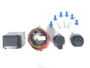China PVC Trailer Wiring Harness 7 Pin Rubber Brass ISO1724 Certification on sale