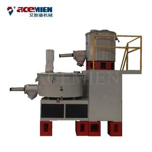 China High Speed Drying Industrial Mixer Machine For Plastic PVC Powder Raw Material on sale