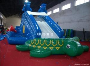 China Portable Inflatable Water Park For Outdoor Use on sale