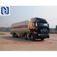 China 40-60 Tons Semi Trailer Trucks 2FUWA Axles Square U Shape Design on sale