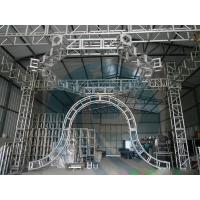 Smart Rotating Aluminum Stage Truss System , Aluminum Roof Truss