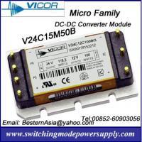 Vicor 50W 15V DC-DC Converters V24C15M50B