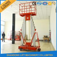 China Mini Light Weight Electric Truck Mounted Aerial Work Platforms 1.4 * 0.6 mm Table Size on sale