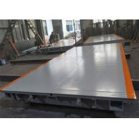ZMIC Load Cell Portable Weighbridge 3 X 18 Meter Size With 6 U Type Beam