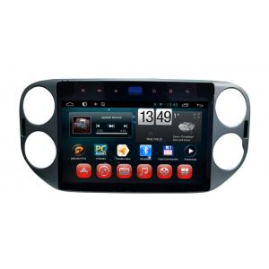 China 2 Din Touch screen Android 4.2.2 car dvd player for 10.1in new VW Tiguan on sale
