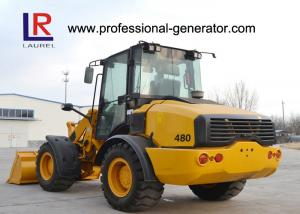 Quality Full hydraulic Wheel Loader / Heavy Construction Machinery 2000kg Rated Load for sale