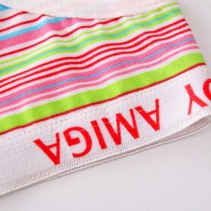 China Stripes Printing Sexy Women Open Panties Photo on sale