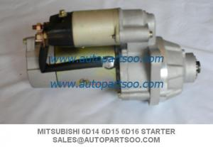 China Brand New Mitsubishi Starter Motor For Mitsubishi 6D14 6D15 6D16 on sale