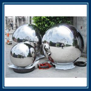 Quality Large Decorative Garden Balls /stainless Steel Hollow Sphere For  Sale ...
