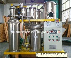 China used cooking oil recycling machine,Vegetable Oil Filter Machine on sale