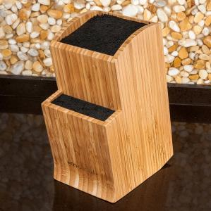 China unique design for kichen tools of bamboo knife holder magnet knife holder on sale