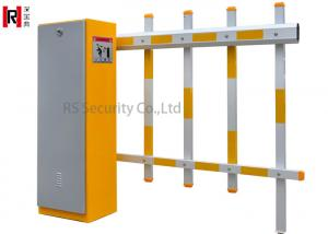 China Car Pakring Lot Automatic Arm Road Traffic Metal Boom Barrier on sale