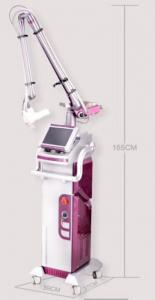 China Air Cooling Fractional Co2 Laser 10600nm Skin Tightening Machine with 8.4 inch screen on sale