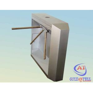 China Anti Tail Security Airport Biometric Turnstile Barrier Led Display For School / Hotel on sale