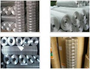 China Corrosion Resistance Square Wire Mesh , Low Carbon Steel 4x4 Welded Wire Mesh on sale