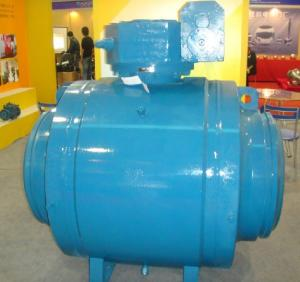 China CL150 CL300 CL600  SS304/SS316  Butt Welded RTJ  FULL PORT Side Entry BALL VALVE on sale