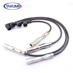 China VW Golf Spark Plug Cables EPDM / Silica Gel 021905409AD Withstand High Pressure on sale