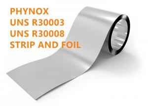 China Cobalt base alloy Phynox alloy UNS R30003, R30008 for medical on sale
