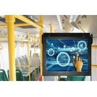 Train Subway / Bus Digital Signage LCD Video Advertising Player
