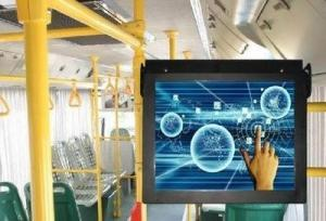 China Train Subway / Bus Digital Signage LCD Video Advertising Player on sale