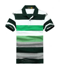 China 2014 OEM custom design stripes polo shirt for men on sale