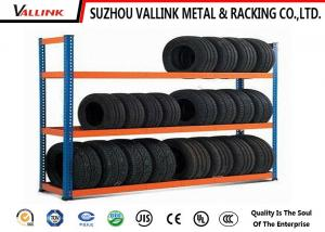 China Detachable Metal Tire Storage Rack 3 Layers For Workshop / Wharf / Freight Yard on sale