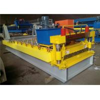 Automatic Color Steel Roll Forming Machine , Trapezoidal Sheet Roll Forming Machine