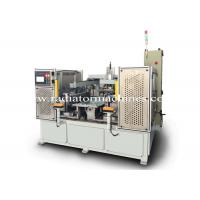 China Semi Automatic Radiator Core Builder Machine with Replacalbe Header Mold on sale