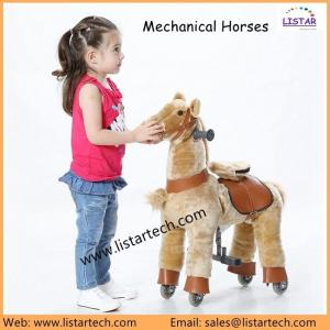 China Indoor Kiddy Rides Pony Ride Horse on Toy Walking Animal Horse with High Quality, Buy Now! on sale