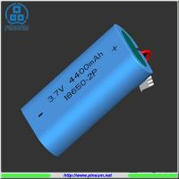 Li-ion battery 18650 3.7V 4400mAh for flashlight