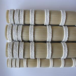 China Genuine Mongolian Horse Hair for Bow rehairs / violin bow horse hair / natural white, black and mixed color on sale