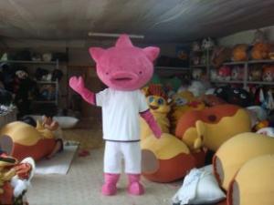 Quality Traje adulto del personaje de dibujos animados de la mascota del cerdo para las for sale