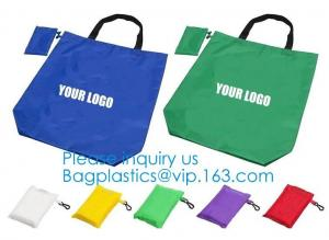 China Promotional Standard Size Portable Reusable Eco Friendly Foldable Polyester Fish Shape Shopping Tote Bags With Handle on sale