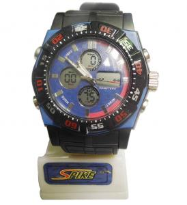 China Multifunction Analog-digital Watches Lithium Battery Wristband Watch on sale