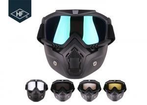China Custom Aftermarket Motorcycle Accessories TPU PC Riding Goggles Mask For Man on sale