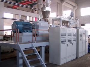 China 28:1 Single Screw Extruder SJ45 for PVC Pipe, Plate on sale