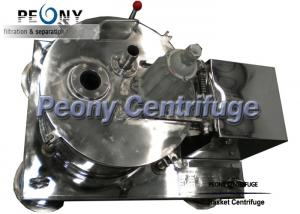 Quality Plate Top Discharge Pharmaceutical Centrifuge Equipment / Decanter Centrifuge for sale