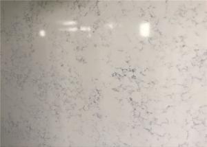 China Non Porous Artificial Quartz Slabs , Quartz Countertop Slab Multi Color on sale