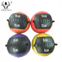 Durable PVC Slam Ball Medicine Ball With Sand Filled Balance Maintaining