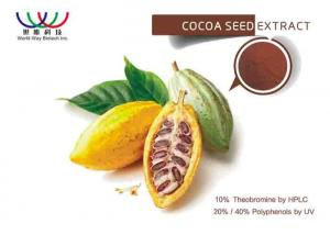 China Theobroma Cocoa Polyphenol Extract , Lavado Cocoa Extract For Food Additive on sale