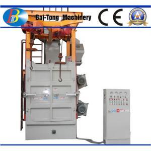 China Compact Rust Removal Shot Blasting Machine , Shot Blasting Unit Large Lifting Capacity on sale