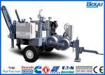 110kv Transmission Line Stringing Equipment Main Pump German Rexroth Max Intermittent Pull 4 Tons 40kN